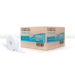 กระดาษชำระม้วนใหญ่ 1 ชั้น 600 เมตร CENCLEAN JRT